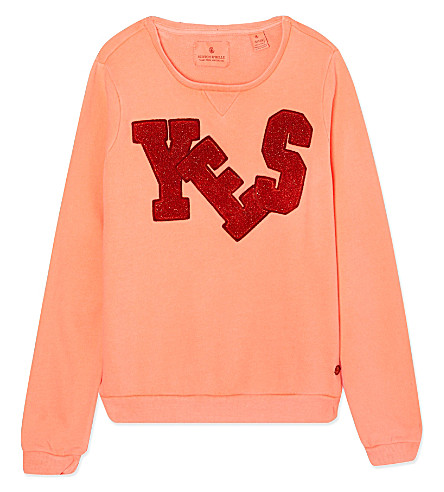 SCOTCH R'BELLE Yes logo jumper 4-16 years (Syrup