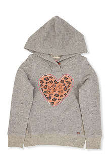 SCOTCH R'BELLE Heart logo hoody 4-14 years