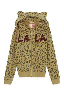 SCOTCH R'BELLE Leopard print hoody 4-16 years