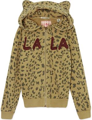 SCOTCH R'BELLE Leopard print hoody 4-16 years