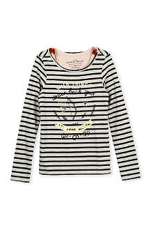 SCOTCH R'BELLE Dessina striped vest and top 4-14 years