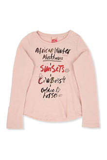 SCOTCH R'BELLE Long-sleeved A-Line sparkle top 4-14 years