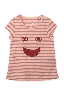 SCOTCH R'BELLE Smiley face striped t-shirt 4-16 years