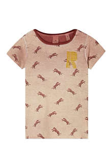 SCOTCH R'BELLE Tiger print t-shirt 4-16 years