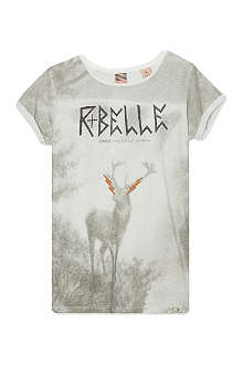SCOTCH R'BELLE Deer print t-shirt 4-16 years
