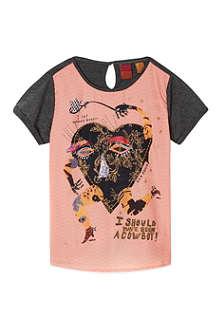 SCOTCH R'BELLE Heart print t-shirt 4-16 years