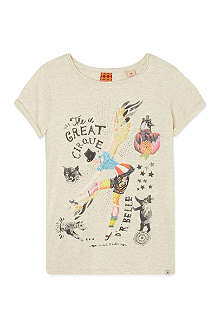SCOTCH R'BELLE Circus t-shirt 4-16 years