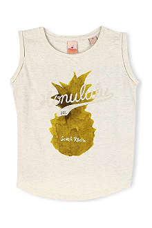 SCOTCH R'BELLE Pinapple contrast t-shirt 4-16 years
