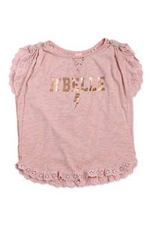 SCOTCH R'BELLE Rock t-shirt 4-14 years
