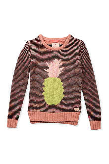 SCOTCH R'BELLE Pineapple knitted jumper 4-16 years
