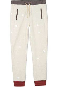 SCOTCH R'BELLE Spotted marled effect tracksuit bottoms 4-16 years