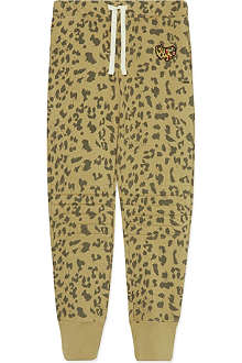 SCOTCH R'BELLE Leopard print jogging bottoms 4-16 years