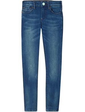 SCOTCH R'BELLE Voyage faded skinny jeans 4-16 years
