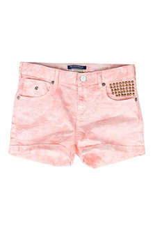 SCOTCH R'BELLE Tie-dye denim shorts 10-14 years