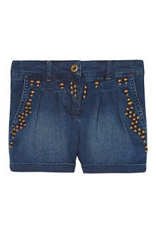 SCOTCH R'BELLE Embroidered denim shorts 4-16 years