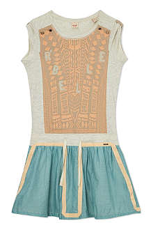 SCOTCH R'BELLE Aztec panel skirt dress 4-16 years