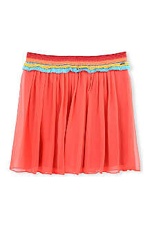 SCOTCH R'BELLE Ruffle-waist wrap skirt 4-16 years