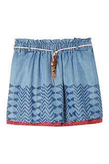 SCOTCH R'BELLE Chambray feather skirt 4-16 years