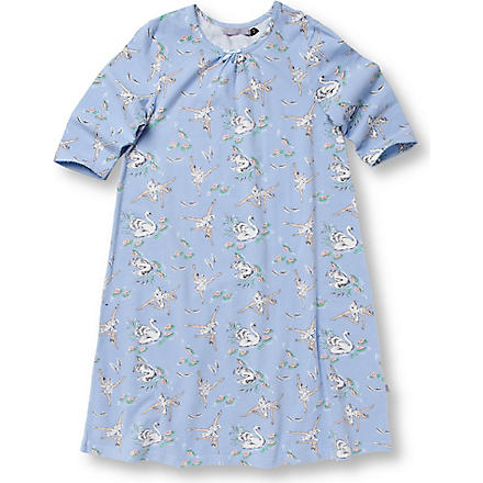 THEIR NIBS Vintage print nighty 2-8 years (Blue