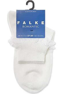 FALKE Lace trim socks