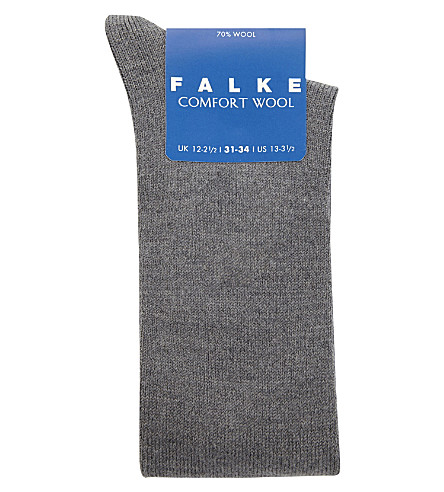 FALKE Comfort wool socks (Grey