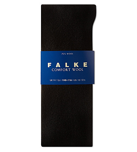 FALKE Falke comfort wool socks 12 months-12 years (Black