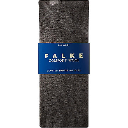 FALKE Falke comfort wool socks 12 months-12 years (Grey