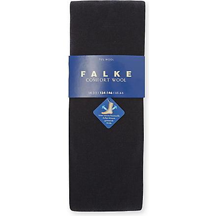 FALKE Falke comfort wool socks 12 months-12 years (Navy