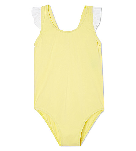 MELISSA ODABASH Bow detail swimsuit 2-12 years (Yellow
