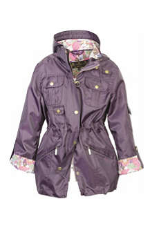 BARBOUR Hello Kitty Lottie lightweight parka 2-15 years