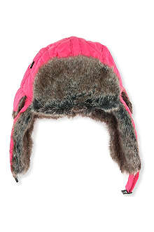 BARBOUR Barbour quilted fur hunter hat XS-L