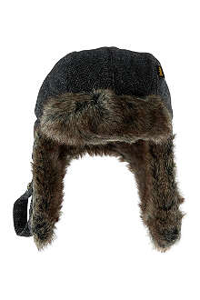 BARBOUR Grasmere trapper hat
