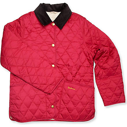 BARBOUR Quilted Liddesdale jacket (Fuchsia