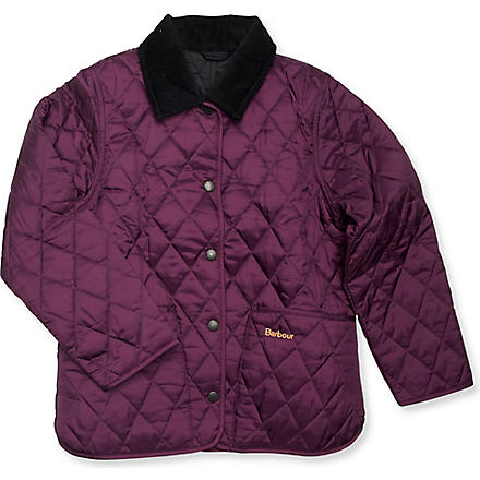 BARBOUR Quilted Liddesdale jacket (Purple