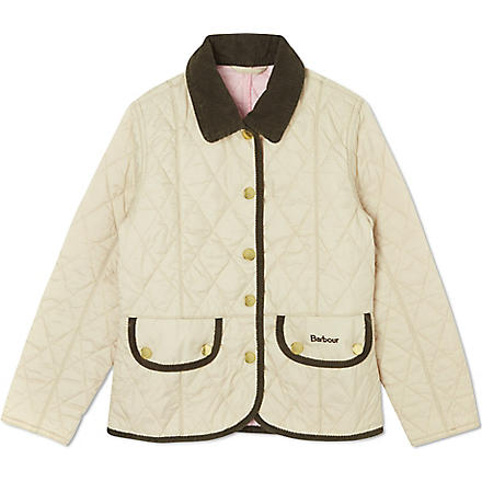 BARBOUR Vintage Quilt jacket (Cream