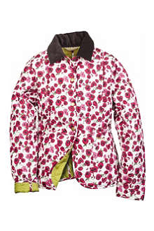 BARBOUR Molly quilted rose jacket 2-15 years