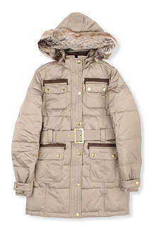 BARBOUR Barbour hooded fur parka XXS-XXL
