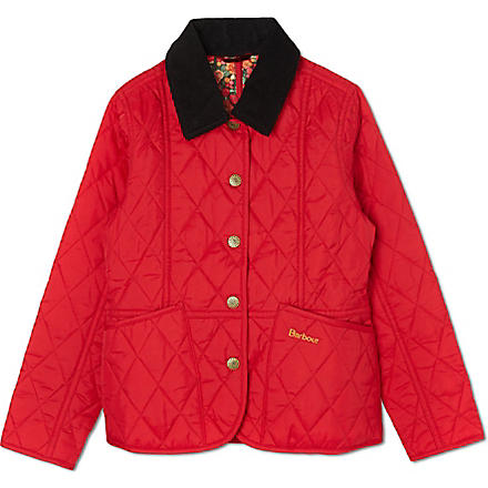 BARBOUR Eliza Liddesdale jacket (Red
