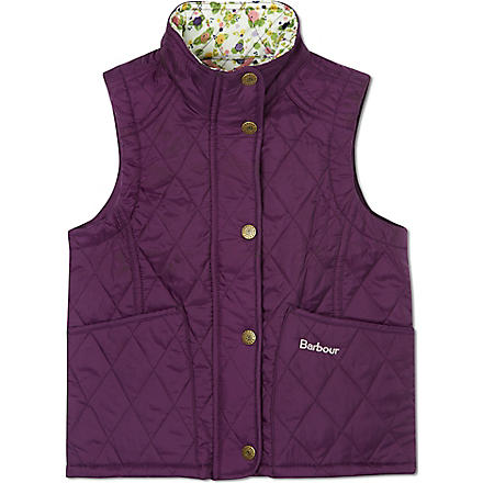 BARBOUR Glencove quilted gilet (Purple