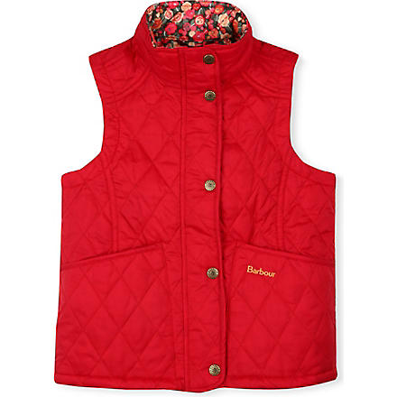 BARBOUR Glencove quilted gilet (Red
