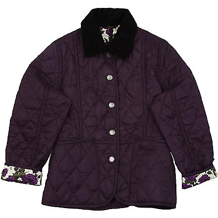 BARBOUR Rose Liddesdale jacket 2-9 years (Purple