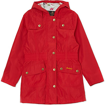 BARBOUR Eland hooded jacket XXS-XXL (Red