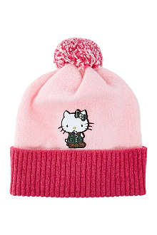 BARBOUR Hello Kitty bobble hat
