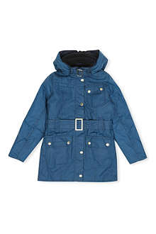 BARBOUR Weyhill waxed-cotton jacket 2-15 years