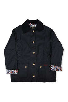 BARBOUR Chamber beadnell waxed jacket 2-9 years