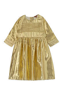 I LOVE GORGEOUS Gold dress 2-13 years