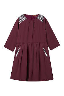 I LOVE GORGEOUS Sequinned chiffon dress 2-12 years