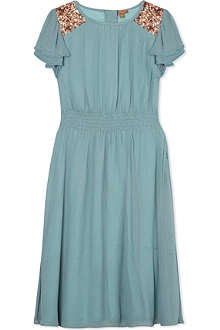 I LOVE GORGEOUS Freida silk dress 2-12 years