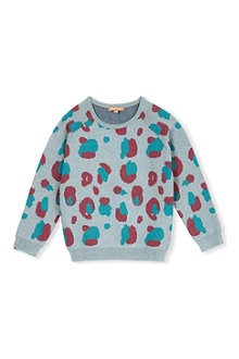 I LOVE GORGEOUS Camo knit jumper 8-10 yearap