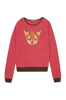 I LOVE GORGEOUS Fox sequin jumper 2-12 years